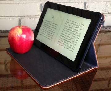 Kindle Fire standing